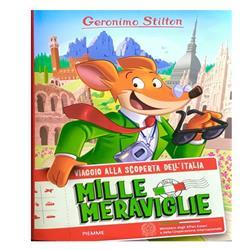 """Geronimo Stilton in """"Mille meraviglie-Viaggio alla scoperta dell'Italia"""""""
