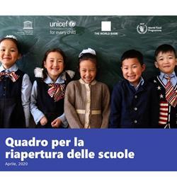 Quadro per la riapertura delle scuole